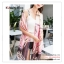 PR162 ผ้าพันคอแฟชั่น ผ้าชีฟอง พิมพ์ลายสวย ขนาด ยาว 180 กว้าง 90 cm. thumbnail 10