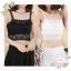 WG107 เสื้อซับใน ผ้าลูกไม้ สวยหวาน มี 2 สี ขาว ดำ มีฟองน้ำเสริมอก รอบอกไม่เกิน 34 นิ้ว งานสวยคะ thumbnail 1