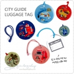 City Guide Luggage Tag