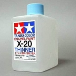 TA80040 X-20THINNER 250ML (Enamel)
