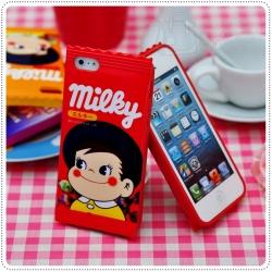 Case iPhone 4/4s Peko Milky