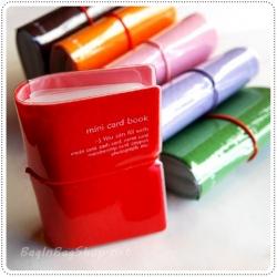 Colorful Mini Card Book