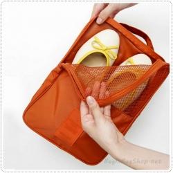 Mesh Pocket Shoe Pouch กระเป๋าใส่รองเท้า พกพา