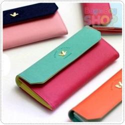 Triple Wallet กระเป๋าสตางค์ทรงยาว 3 สีสวย