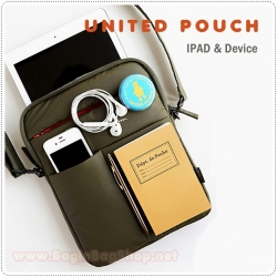 United Pouch Smart Messenger Pouch for iPad