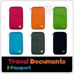 Travel Documents & Passport กระเป๋าเก็บเอกสารการเดินทาง