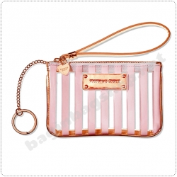 &#x2764️ Victoria's Secret Baby Pink Cosmetic Bag with Keychain
