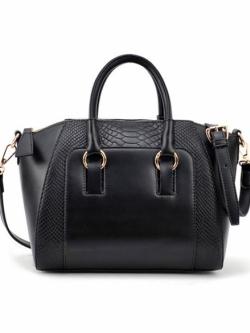 กระเป๋าถือพร้อมสายสะพาย Crocodile Messenger