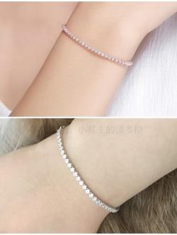 สร้อยข้อมือ Zircon Diamond Chain S25