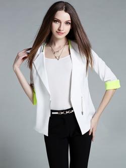 เสื้อคาร์ดิแกน Pure Color Commuter Slim