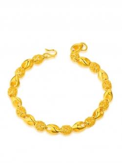 สร้อยข้อมือ 24K Exquisite Transfer Beads