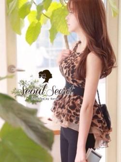 Seoul Secret เสื้อชีฟองลายเสือ แต่งระบายผ้าแก้ว