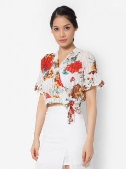 เสื้อเบลาส์ Flowery Lady