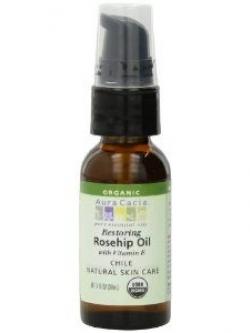Aura Cacia Organic Rosehip Oil with Vitamin E