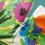 GanLan Basic เดรส ผ้าชีฟองเนื้อผสม พิมพ์ลายดอกไม้ พร้อมเข็มขัดหนัง thumbnail 5