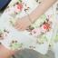 Ice Vanilla Romantic Retro Flower Sleeveless Dress thumbnail 7