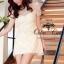 Fleur Blanc Mini Dress มินิเดรส ผ้าลูกไม้ ปักฉลุลายดอกไม้ thumbnail 3
