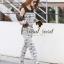 Seoul Secret Nifty Long Graphic Pattern Print Jumpsuit thumbnail 3