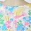 Cherry KOKO เดรสผ้าแก้วปักไหมพรมลายดอกไม้ พร้อมเข็มขัดหนัง thumbnail 8
