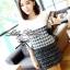 Lady Ribbon Black & White Tweet Mini Dress เก๋ เรียบหรู ไฮโซสุดๆ thumbnail 1