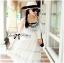 Lady Ribbon Bohemien Maxi Dress เดรสยาวผ้าชีฟองปักลาย thumbnail 2