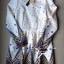 Lady Ribbon มินิเดรสแขนยาว ลายกราฟฟิค กระโปรงทรง ballet thumbnail 8