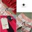 Lady Ribbon Set ชุดเซ็ทเสื้อและกางเกงพิมพ์ลายสีแดงสุดเปรี้ยว thumbnail 9