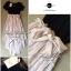 Lady Ribbon Jersey Chiffon Layer Dress เดรสต่อกระโปรงชีฟอง thumbnail 9