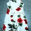 Seoul Secret Girly Red Blossom Print Camisole Dress thumbnail 8