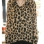 Animal Print Fashion เสื้อเชิ้ตผ้าชีฟอง พิมพ์ลาย Leopard thumbnail 6
