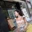 Graphic Lace Dress เดรสลูกไม้ซีทรู ทอลายกราฟฟิก แขนตุ๊กตา thumbnail 5