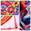 Ice Vanilla มินิเดรสแขนกุด ผ้าพิมพ์ลายสีสดใส แต่งลายปักดอกไม้ 3 มิติ thumbnail 13