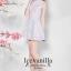 Ice Vanilla Sweet Pastel Floral Dress เดรสลายดอกไม้ สีพาสเทล thumbnail 5