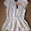 Lady Ribbon เสื้อปักฉลุกุหลาบ ระบายชาย สีขาว ชมพู กรมท่า thumbnail 8
