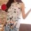 Lady Ribbon เสื้อลูกไม้ซีทรู พิมพ์ลายผีเสื้อสีสดใส thumbnail 2