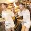 Lady Ribbon Mini Dress เดรสแขนยาว ซีทรูดีเทลอกฉลุรังผึ้ง thumbnail 4
