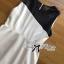 Lady Ribbon Minimal Monochrome Flared Dress thumbnail 8
