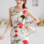 Seoul Secret Girly Red Blossom Print Camisole Dress thumbnail 1