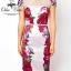 ASOS Printing Flower Dress เดรสพิมพ์ลายดอกไม้ แต่งผ้าซีทรู thumbnail 8