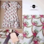 Lady Ribbon Mini Dress เดรสพิมพ์ลาย แต่งระบายชายกระโปรง thumbnail 9