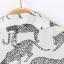 MNG เสื้อเชิ้ตแขนยาว ผ้าชีฟอง พิมพ์ลายเสือดาว S,M,L thumbnail 7