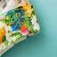 GanLan Basic เดรส ผ้าชีฟองเนื้อผสม พิมพ์ลายดอกไม้ พร้อมเข็มขัดหนัง thumbnail 7