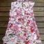 Blooming Floral Mini Dress มินิเดรส ลายดอกไม้ โทนสีชมพูหวานๆ thumbnail 7