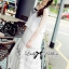 Lady Ribbon Bohemien Maxi Dress เดรสยาวผ้าชีฟองปักลาย thumbnail 8