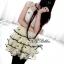 Snidel Layer Dress เดรสชีฟองแขนล้ำ ปักดอกไม้ เล่นระบายชายชั้นๆ thumbnail 2