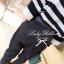 Lady Ribbon ชุดเซ็ตเสื้อถักลายทาง กางเกงขายาวทรงฮาเร็ม ผูกโบว์ช่วงเอว thumbnail 6