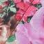 ASOS/GANLAN เดรสสั้น ผ้าพิมพ์ลายดอก สีสดใส ไซส์ S M L thumbnail 8