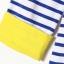 Urban Style เสื้อ พิมพ์ลายขวางสีน้ำเงิน ลายนกฮูกแต่งมุก thumbnail 7