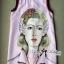 Lady Ribbon เดรสพิมพ์ลายศิลปะสไตล์แบรนด์ Prada thumbnail 5