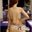 Lady Ribbon Maxi Dress ผ้ายืดเจอร์ซีย์ ตัดต่อเว้าหลังสุดเซ็กซี่ thumbnail 3